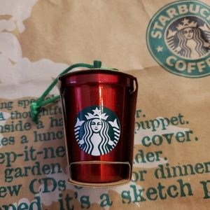 Starbucks Holiday Cup Ornament